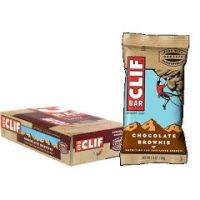 Clif Bar Natural Energy Bar - Chocolate Brownie - Box of 12