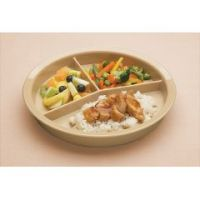 High-Sided Divided Dish/Plate - Each