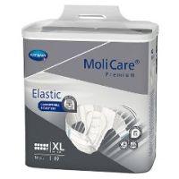 "MoliCare® Premium Elastic 10D Disposable Severe Absorbency Briefs - Medium 33"" -47"" Waist - Pack of 14"