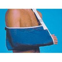 Arm Sling with Thumb Loop - White