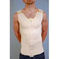 Zippered Male Gynecomastia Vest (Full Body)