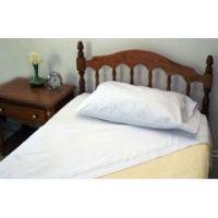 Hospital Bed Sheet Sets - Fitted Sheet, Flat Sheet & Pillow Case - Bone