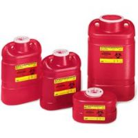 Multi-Use One-Piece Sharps Collector - 9 gallon - Case of 8