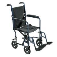 Drive Medical Lightweight Aluminum Transport Wheelchair