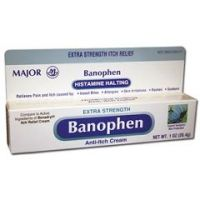 Banophen Itch Relief Cream - Each