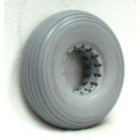 """Urethane Rib Tire 8"""" X 2"""" (210-65)  Fits Permobile Wheels - 1 pair"""