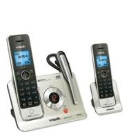 2 Handset Cordless Answering System Wcid - Each