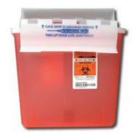 SharpStar In-Room Sharps Containers with Counter Balanced Lid - 5qt - Each