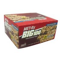 MET-Rx Big 100 Colossal - Chocolate Chip Cookie Dough - Pack of 9