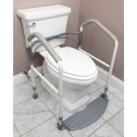 Fold Easy Toilet Safety Frame & Rails - Each