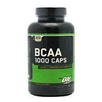 BCAA 1000 Caps - Bottle of 200