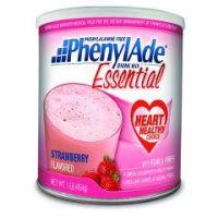 PhenylAde Essential Drink Mix - Strawberry 16oz Powder - Each