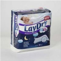 """Laydry Absorbent Bed Pads For Kids 24"""" x 36"""" - 24"""" x 36"""" - Pack of 10"""