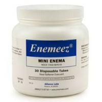Enemeez Mini Enema Ducosate Sodium 283 mg - Bottle of 30