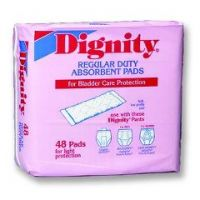 Dignity Regular-Duty Incontinence Pads