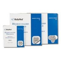 ReliaMed Hydrocolloid Dressing with Film Back and Beveled Edge