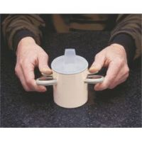 Thumbs-Up Cup And Spout Lid - Thumbs-Up Cup And Spout Lid