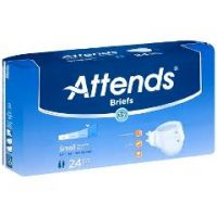 Attends Tab Closure Heavy Absorbency Incontinent Brief