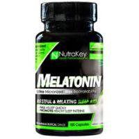 Nutrakey Melatonin - Bottle of 100