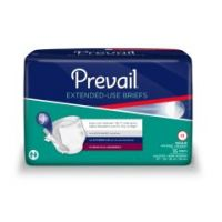 Prevail Extended Use Adult Briefs for Heavy Incontinence Protection - Day or Night