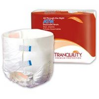 Tranquility ATN  All-Through-the-Night Disposable Briefs- Youth/X-Small