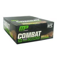 Muscle Pharm Hybrid Series Combat Crunch - Chocolate Peanut Butter Cup - Pack of 12