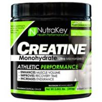 Nutrakey Creatine Monohydrate - Unflavored - Each
