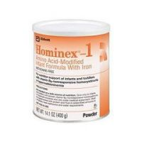 Hominex 1 Amino AcidModified Infant Formula with Iron - 14.1 oz. (400 gram) Can