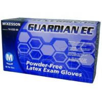 McKesson GUARDIAN EC Powder-Free Latex Exam Gloves - Medium