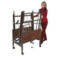 Bed Transport Cart - Bed Cart , For Homecare Bed - Case of 1