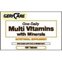One-Daily Multi-Vitamins w/ Minerals - Bottle of 100
