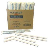 McKesson Flexible Drinking Straw