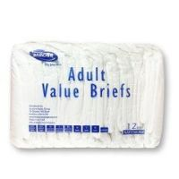 """Invacare Value Series Adult Briefs - Extra Large (Bariatric) - Size: XLarge - Waist Size: 59"""" - 64"""" - Case of 60"""