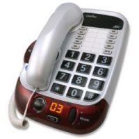 Clarity Alto White Amplified Phone - Clarity Alto White Amplified Phone