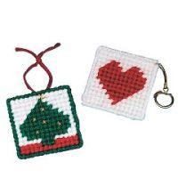Allen Diagnostic Module Needlepoint Heart Key Rings, Pack Of 6 - Allen Diagnostic Module Needlepoint Heart Key Rings, Pack Of 6 - Pack of 1