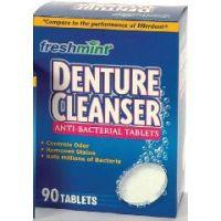 Freshmint Denture Cleaner Tablets - Box of 90