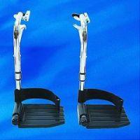 Hemi Footrest Composite 2/pack, With Heel Loops