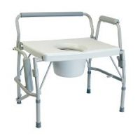 Imperial Collection Three-in-One Drop Arm Commode  - Each