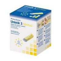 Unistik 3 Travel Lancets - Comfort 28G - Box of 25