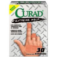 CURAD Extreme Hold Adhesive Bandages - Case of 720