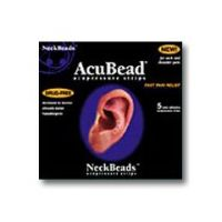 AcuBead NeckBeads - Acupressure Strips - Pack of 5