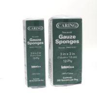 Caring Woven Non-Sterile Gauze Sponges
