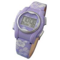 Global VibraLITE MINI Vibrating Watch with Purple Flower Band - Global VibraLITE MINI Vibrating Watch with Purple Flower Band