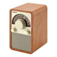 AM/FM Table Top Wooden Radio,Walnut - Each