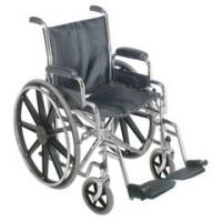 """DMI 18"""" Wheelchair with Removable Desk Arms - Box of 1"""