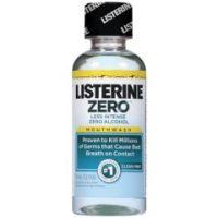 Listerine ZeroClean Mint Mouthwash