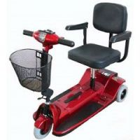Zip'r 3 Wheel Xtra Hybrid Travel Scooter