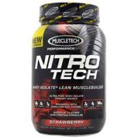 MuscleTech Performance Series Nitro-Tech - Strawberry - Each