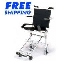 Nissin Travel Wheelchair - Lightweight Travel Chairs - Each