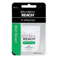 Reach Waxed Dental Floss - 55 Yards - Case of 36